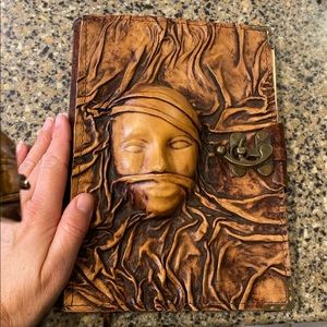 Incredible leather handmade journal stables Row
